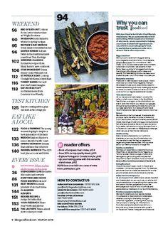 READER RECIPE (BBC Good Food), 01 Mar 2018 Bbc Good Food Recipes, St Patrick, Brunch, Magazine, Canning, Eat, Magazines, Home Canning, Warehouse