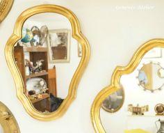 Pareja de espejos de estilo frances 7 Genoves Atelier