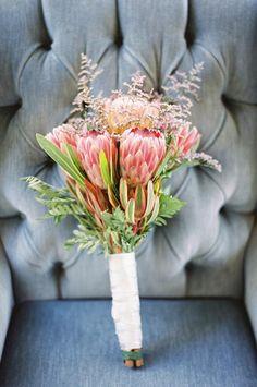 Challenge #4: Protea Inspiration | Bridal bouquets