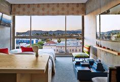 Line Hotel a Los Angeles. Un nuovo albergo nel distretto Koreatown che combina arredi moderni e mobili etnici