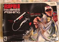 mint Rapala Pro Bass Fishing with Rod Peripheral For Nintendo Wii open box: $64.50 End Date: Thursday Mar-29-2018 23:12:30 PDT Buy It Now…