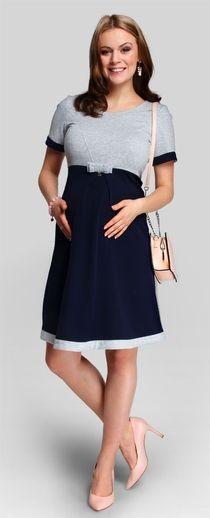 Bambina хлопковое платье для беременных