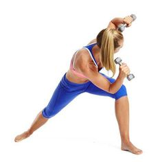 Try this hybrid yoga, cardio, and weights workout to get lean and toned.