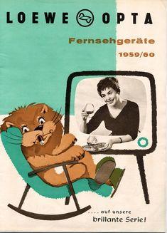 Loewe Opta Fersehgeräte 1959