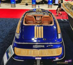 Chris Craft Bullet 20 in Montego Blue Metallic at the 2012 Miami Boat Show