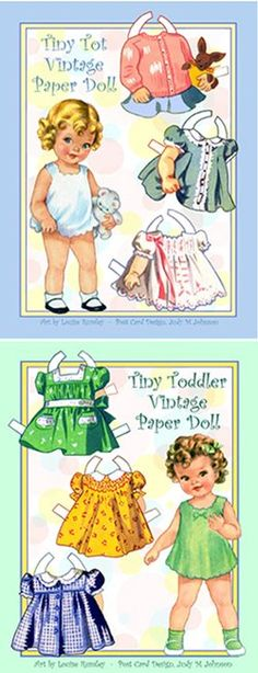 [PC-CuteToddlers.jpg] paper dolls