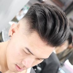Asian Slicked Back Undercut - Best Asian Hairstyles For Men: Best Asian Men's Haircuts Asian Hair Undercut, Asian Men Short Hairstyle, Undercut Fade Hairstyle, Asian Man Haircut, Modern Short Hairstyles, Mens Slicked Back Hairstyles, Permed Hairstyles, Asian Hairstyles, Hairstyles Men