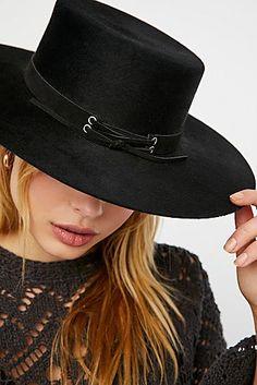 Breaking Ties Corset Band Felt Hat