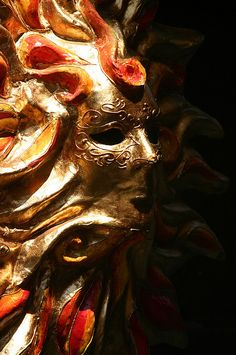 ..Venetian carneval mask...