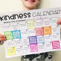 How do you encourage acts of kindness in your classroom? ❤️ February is a great month for a Kindness challenge! Challenge kids to complete one each day or a certain number each month. We like to use a kindness calendar to keep track. It's all about spreading kindness, right?💗Find more ways to teach kindness at the #linkinprofile or leave a comment for a link! #kindness #kindnesschallenge #kindkids #actsofkindness