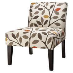 Avington Upholstered Slipper Chair - Multicolored