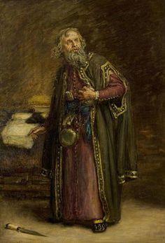 Henry Urwick as Shylock - Walter Chamberlain Urwick