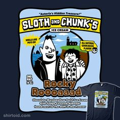 Sloth and Chunk Ice Cream