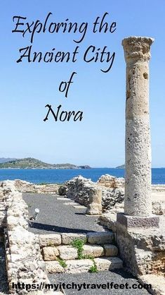 What to see on a Mediterranean cruise excursion to the ancient city of Nora on the island of Sardinia. Book your trip for the spring for cooler temperatures and fewer tourists. Cruise Excursions, Cruise Destinations, Cruise Travel, Cruise Vacation, Honeymoon Cruises, Cruise Tips, Italy Vacation, Backpacking Europe, Europe Travel Tips