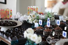 Decoração de festa de aniversário de 40 anos por Patricia Junqueira