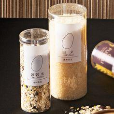 お米パッケージ【ラベルテンプレート】 Chip Packaging, Rice Packaging, Cookie Packaging, Paper Packaging, Bottle Packaging, Food Branding, Food Packaging Design, Branding Design, Tamarind Juice