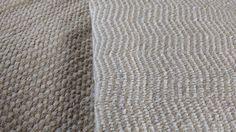#ALFOMBRAS Chevron y nudos Tejidas en telar,   diferentes tramas y texturas, todas las medidas y colores http://www.laszainas.com.ar/