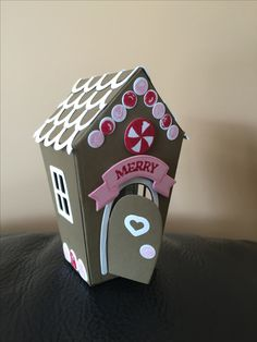 Stampin Up Gingerbread House Home Sweet Home