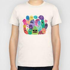 Monsters Kids T-Shirt by Maria Jose Da Luz - $20.00