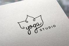 Yoga logo by Sonne on @creativemarket