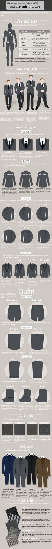 Hướng dẫn các bước để sắm được một bộ suit ưng ý