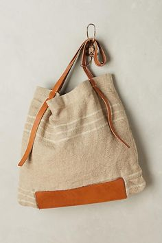 Washed Linen Tote