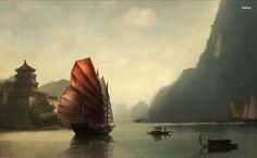 Old China HD Wallpaper