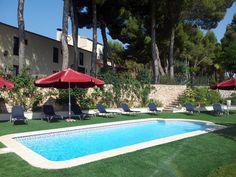 Hotel Rural Castillo de Biar (Finca Fanecaes): Piscina