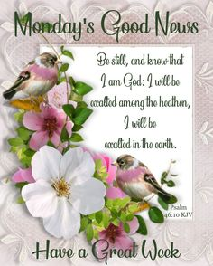Monday Wishes, Monday Greetings, Monday Blessings, Morning Blessings, Good Morning Greetings, Good Night Prayer Quotes, Good Morning Quotes, Monday Morning Blessing, Monday Pictures