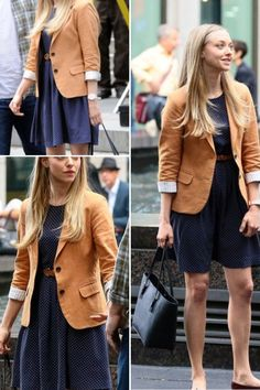 Amanda Seyfried in Ted 2. I love this outfit!!