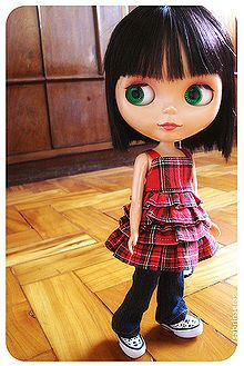 Maybe not ACTUALLY baby stuff, but Blythe dolls are gorgeous. I totally love this one.