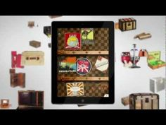 "{style} Louis Vuitton presents ""100 Legendary Trunks"" Ipad App"