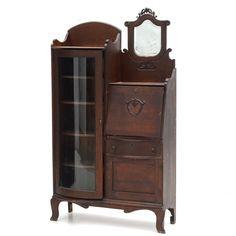 Victorian secretary bookcase on ebth