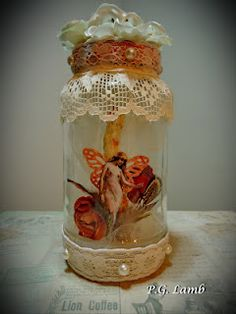 Peachy Paper Crafts: Fairy In A Bottle