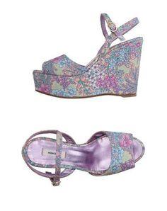 MANOUSH Women's Sandals Purple 11 US
