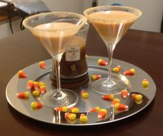 Pumpkin Pie Martini (Perfected) Give it try, you will NOT be disappointed! Comment & et me know what ya think! #pumpkin #fall #cocktail #fallcocktail #martini