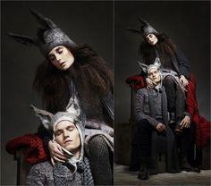 Анимальные головные уборы от Barbara Keal |Осень-зима 2016-17 на Fashion-fashion.ru