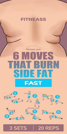 Burn Side Fat With The Best Core Workouts And Tips