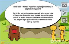Definition and description of digital health and wellbeing