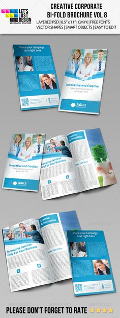 Annual Report Brochure Template InDesign INDD Annual Report