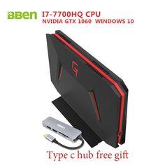 Bben GB01 Desktop Mini PC Win10 Intel I7 7700HQ CPU 6GB DDR5 NVIDIA GEFORCE GTX1060 32G DDR4 RAM HDD/SSD Options RJ45 WIFI BT4.0  Price: 1317.99 & FREE Shipping #computers #shopping #electronics #home #garden #LED #mobiles #rc #security #toys #bargain #coolstuff |#headphones #bluetooth #gifts #xmas #happybirthday #fun Desktop, Ddr4 Ram, Hdd, Mobiles, Mini, Computers, Bluetooth, Headphones, Happy Birthday