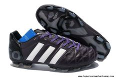 Buy 2014 World Cup adidas adipure 11Pro TRX FG Black/White Soccer Cleats
