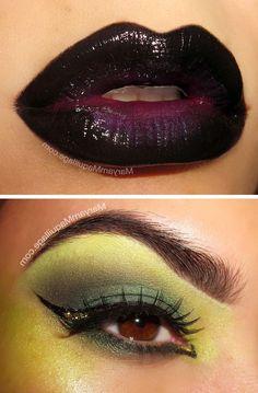 #witch #halloweenmarket #halloween  #ведьма #грим #макияж #образ Макияж ведьмы на хэллоуин (фото)