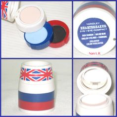 Yardley Heartbreaker 3 in 1 Eye Compact in the Union Jack design. Contains Sailor Blue Sigh Shadow, Charcoal English Eyeliner & Cream Highlighter. Sold for $56.55 in 2014.