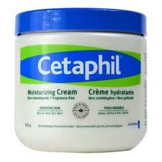 Cetaphil: fragrance free moisturizing cream
