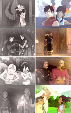 Avatar the Last Airbender/ Legend of Korra: friendships that transcend lifetimes