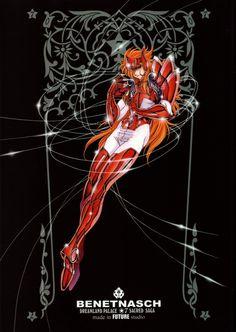 Males Saint Seiya Masami Kurumada Future Studio Saint Seiya Future Studio God Warrior Benetnasch Eta Mime
