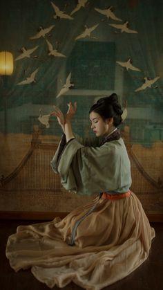Women beautiful world Historical Costume, Historical Clothing, Asian Cute, Chinese Clothing, Chinese Culture, Mori Girl, Hanfu, Kimono Fashion, Traditional Dresses