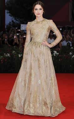 Keira Knightley (Valentino dress)