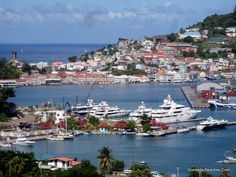 Grenada -- beautiful island... and lots of islanders trying to sell tourists lots of spices etc.... but gorgeous!